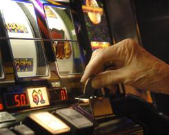 Casino customers in Atlantic City will soon be able to toast their winnings with drinks ordered directly from their slot machines.