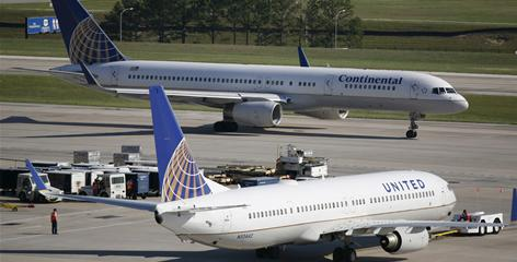 While United and Continental's respective hubs have little overlap, passengers may see a reduction in service.