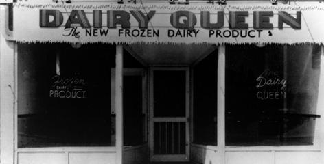 This June 1940 photo provided by the American Dairy Queen Corporation shows the company's first Dairy Queen store after it opened in Joliet, Ill.
