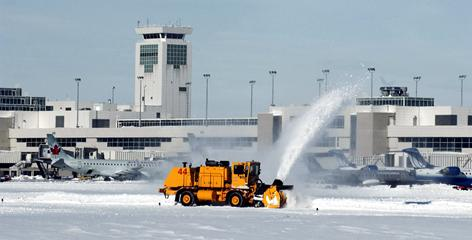 After the 2006 blizzard that stranded thousands of Christmas travelers and stopped operations for nearly a day, Denver International Airport retrained, reorganized and reassessed its snow removal priorities.
