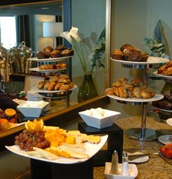 Hotel breakfast spreads can offer few options for vegan and vegetarian travelers. Looking up hotel menus in advance or requesting a refrigerator in the room can ease diet-restricted challenges.