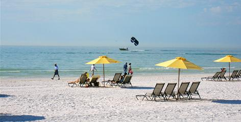 Siesta Key, Fla., where intimacy retreats are conducted, is a romantic destination all by itself.