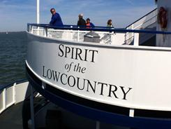 Spiritline Cruises Sesquicentennial Tour and Dinner Cruise includes a living history program, period music, lecture by a military historian, three-course Southern-style meal and cruise aboard the Spirit of the Lowcountry.