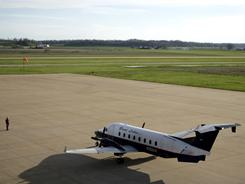 Cape Girardeau Regional Airport in Cape Girardeau, Mo., is one of many small airports that receives government subsidies through the Essential Air Service program.