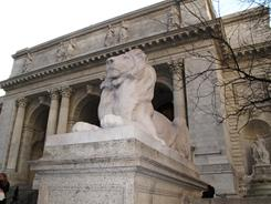 The New York Public Library, on 42nd Street and Fifth Ave., in New York, will be the site of a scavenger hunt by 500 people who will spend the night in the Library exploring its miles of rare treasures.