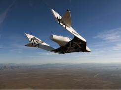 Virgin Galactic's spacecraft.