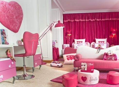 Can I have the Barbie Suite? Hotels play to children's fantasies to