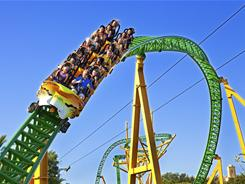 With 4,429 feet of track, Cheetah Hunt will be Busch Gardens' longest roller coaster.