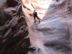 There are few areas that can rival the scope of adventurous offerings, like rappelling, in Moab, Utah.