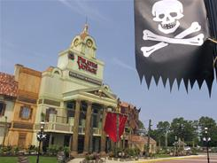 Dolly Parton's Pirates Voyage dinner theater, which replaces her western-themed Dixie Stampede, recently opened in Myrtle Beach, S.C.