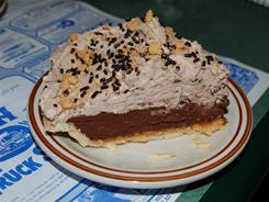 The Reese's Pie at P&H Truck Stop in Vermont.