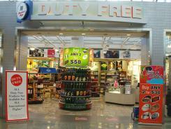A Duty Free shop at Philadelphia International Airport..