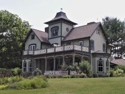 The Mountain Magnolia Inn is a Victorian home and estate in Hot Springs, N.C., which sits at the confluence of the French Broad River and Spring Creek. It is named after natural mineral hot springs bubbling up from those waters.
