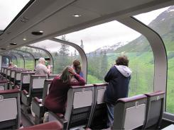 The Alaska Railroad offers a way for independent-minded visitors to explore parts of the state's coast and interior.