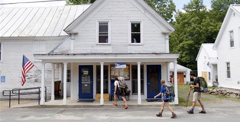 The U.S. Postal Service plans to close some rural post offices including some that Appalachian Trail hikers have come to rely on for vital supply drops on their trip from Georgia to Maine.