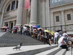 There was no way to avoid the lines for the Metropolitan Museum of Art's Alexander McQueen exhibit, even on its closing day.