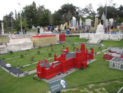 Washington, D.C., landmarks get the Lego treatment in Miniland USA, an area of the park that also re-creates scenes from New York, Las Vegas, San Francisco and Florida. About 30 million individual bricks went into the making of Miniland.
