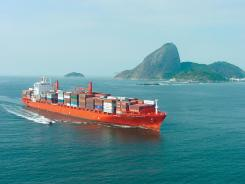 Most of today's freighters that take passengers are containerships, such as the Cap San Augustin shown here, says Ranko Zunic of Maris Freighter Cruises.