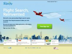 Superfly puts the focus on the best value in your flight choices based on the fare and your expected rewards gains.