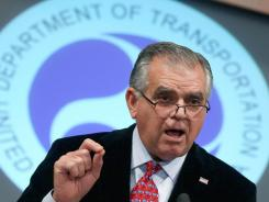 "Transportation Secretary Ray LaHood announced a new ""pilot fatigue"" rule Wednesday that will determine how much time off pilots have between work periods."