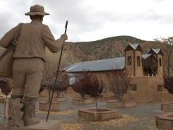 The chapel known as El Santuario de Chimayo, outside of Espanola, N.M., was built in 1813 over a place that legend claimed as holy. Since then, pilgrims have sought cures there and offered hope with stories of miraculous healing.