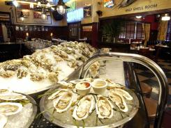 Shaw's Crab House in Chicago is also known for its extensive oyster selection.