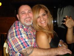Costa Concordia survivors Karen Camacho and husband Luis Hernandez, of Homestead, Fla.