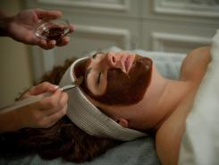 Guests at The Spa at The Hotel Hershey can now have a taste of the chocolate that's used in their facial.
