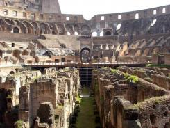 The scaffolding that has long been a part of the Colosseum in Rome will finally come down after its top-to-bottom cleaning.