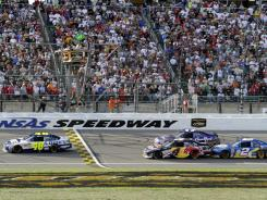 NASCAR fans will now have additional reasons to cheer events at Kansas Speedway: the new Hollywood Casino, the first land-based, Vegas-style gaming facility in the area.
