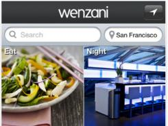 The Wenzani app serves as a nice resource for people looking for ideas about places to visit.
