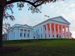 Virginia's state capitol in Richmond was designed by Thomas Jefferson. Its classical features have been replicated in capitols across the country.