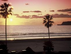 Coronado Beach in San Diego, Calif.