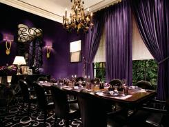 Joel Robuchon restaurant at the MGM Grand resort in Las Vegas.