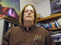 Astronomy professor Daniel Caton is hoping to use low-light video cameras to capture a phenomenon known as the Brown Mountain lights. He teaches at Appalachian State University in Boone, N.C.