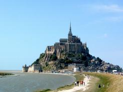 Beginning in May, a visit to France's Mont St. Michel will include a bus ride -- or a long walk -- from the mainland.