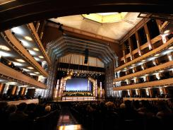 Opening night of The Smith Center for the Performing Arts in Las Vegas, March 10.