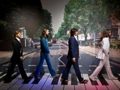 A new interactive Abbey Road Experience at Madame Tussauds Las Vegas invites fans to test their Beatles knowledge. For instance, in the original Paul was barefoot and not behind John. And a VW bug is missing from the street.