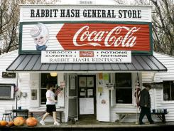 Rabbit Hash, Kentucky: This Ohio River town's name is said to have originated when the flood of 1847 swept away most everything but the general store and the prolific rabbit population.