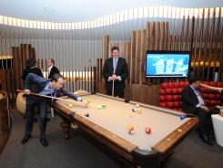 The new Virgin Atlantic Clubhouse at JFK International Airport opened on March 5, in Jamaica, N.Y.