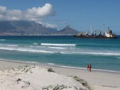 While traveling a familiar itinerary to Cape Town, South Africa, a couple must scramble after their reservation for the final flight to their destination fell through.