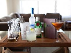 The James Hotel chain offers cocktail making classes to guests in New York and Chicago.