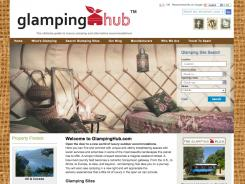 Check in at GlampingHub.com for information about 'glamorous camping' sites.