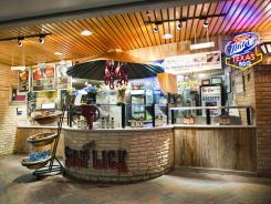 An outpost of the popular 800-seat BBQ restaurant in Driftwood, Texas, is located in Austin-Bergstrom's West Terminal, but fills the entire airport with the bewitching scent of brisket.