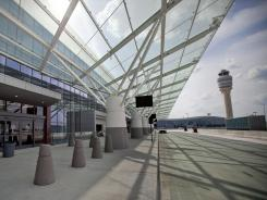 The new Maynard Jackson International Terminal at Atlanta's airport.