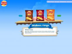 Walker's Crisps are made in an extensive range of flavors, including Prawn Cocktail, Worcester Sauce and Roast Chicken.
