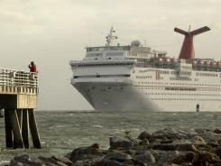 The Carnival Sensation is one of three Carnival ships currently based at Florida's Port Canaveral.