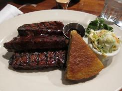 Meatloaf made on the charcoal grill is one of the best and most popular dishes on the menu at Weber Grill.