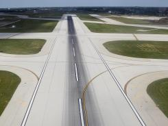 "A few runways have ""humps"" when a part of the runway will rise then descend. This makes for challenging landings."