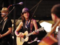 Brandi Carlile performs at Austin City Limits in 2011.